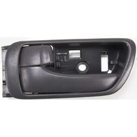 CAMRY 02-06 INTERIOR FRONT DOOR HANDLE LH, Textured Black, Japan/USA Built, Vehicle, (=REAR)