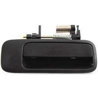 CAMRY/ES300 97-01 REAR EXTERIOR DOOR HANDLE RH, Smooth Black, w/o Keyhole, Plastic, USA Built
