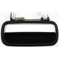TACOMA 01-04 EXTERIOR REAR DOOR HANDLE LH, Textured Black+Chrome Lever, w/o Keyhole