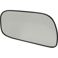 CAMRY 97-01 MIRROR GLASS LH, Non-Heated, w/ Backing Plate, USA Built