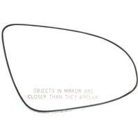 CAMRY 12-17 MIRROR GLASS RH, Non-Htd, w/ Backing Plate, w/o BSD, L/LE/(Hybrid LE) Models