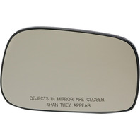 COROLLA/MATRIX 03-08 MIRROR GLASS RH, Non-Heated, w/ Backing Plate