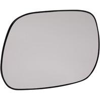 RAV4 01-03 MIRROR GLASS LH, Non-Heated, w/ Backing Plate