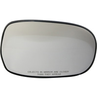 SEQUOIA 01-07/TUNDRA 00-06 MIRROR GLASS RH, Non-Heated, (Sequoia, SR5 Model), w/ Backing Plate