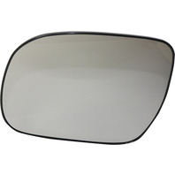 TACOMA 05-11 MIRROR GLASS LH, Non-Heated, All Cab Types, w/ Backing Plate