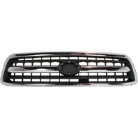 TUNDRA 00-02 GRILLE, Chrome Shell/Painted Black Insert