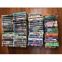70+ Various, Assorted Family, Children VHS Videos see details