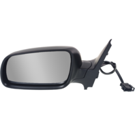 GOLF 99-06 MIRROR LH, Power, Manual Folding, Heated, w/o Memory, Clear Glass, Paintable