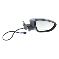 PASSAT CC 09-12 MIRROR RH, Power, Power Folding, Heated, w/ Memory, Signal and Puddle Light, Paintable