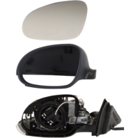 PASSAT 01-05 MIRROR LH, Power, Power Folding, Heated, With Signal Light, w/ Memory, Paintable