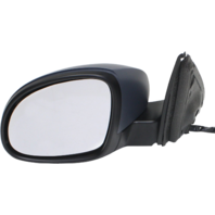 TIGUAN 09-18 MIRROR LH, Power, Power Folding, Heated, w/ Memory, Signal and Puddle Light, Paintable