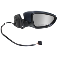 PASSAT CC 09-12 MIRROR RH, Power, Manual Folding, Heated, w/ Signal and Puddle Light, Paintable