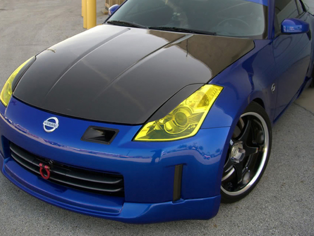 iJDMTOY Blue Front Track Racing Style Tow Hook Ring Compatible With 2003-2004 Nissan 350Z Z33 Fairlady Z Made of Lightweight Aluminum