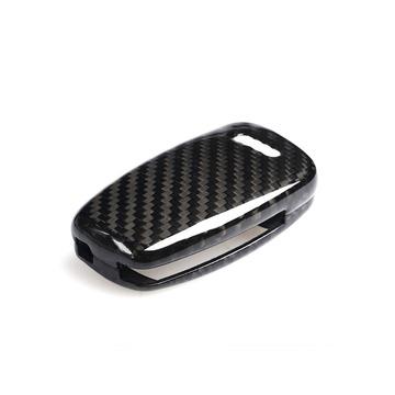 AutoTecknic AU-0005 Carbon Fiber Key Case Fits 03-14 Audi Key Fobs