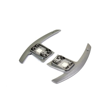 AutoTecknic Silver Alloy Competition Shift Paddles Fits 17+ BMW G30 5-Series | G32 6-Series GT