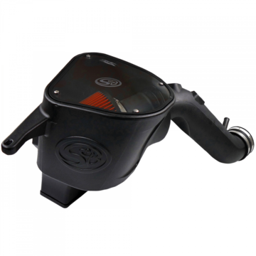 S&B Filter 75-5092 Cold Air Intake For 10-12 Dodge Ram 2500 3500 6.7L Cummins Cotton Cleanable Red