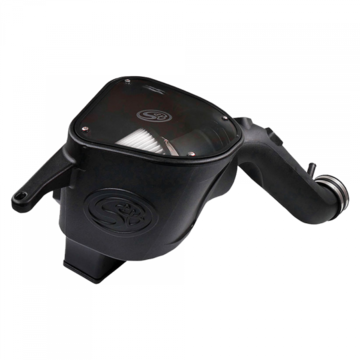 S&B Filter 75-5092D Cold Air Intake For 10-12 Dodge Ram 2500 3500 6.7L Cummins Dry Extendable White