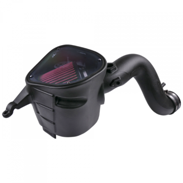 S&B Filter 75-5093 Cold Air Intake For 07-09 Dodge Ram 2500 3500 4500 5500 6.7L Cummins Cotton Cleanable Red