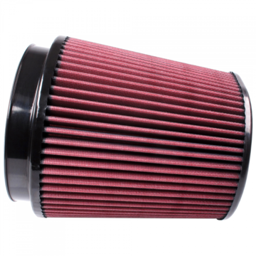S&B Filter CR-91053 Air Filter for Competitor Intakes AFE XX-91053 Oiled Cotton Cleanable Red