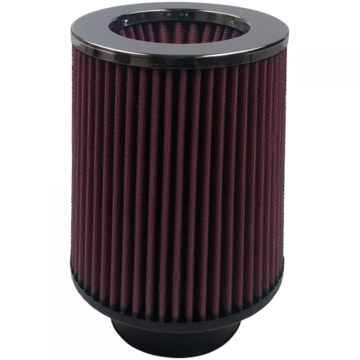 S&B Filter KF-1004 Air Filter For Intake Kits 75-1511-1 Oiled Cotton Cleanable Red