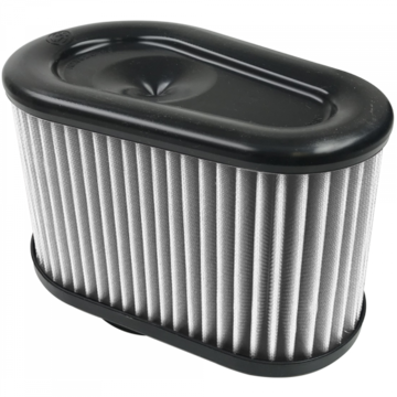 S&B Filter KF-1039D Air Filter for Intake Kits 75-5070 Dry Extendable White