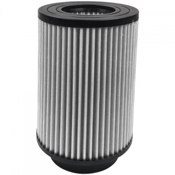 S&B Filter KF-1041D Air Filter For Intake Kits 75-5027 Dry Extendable White