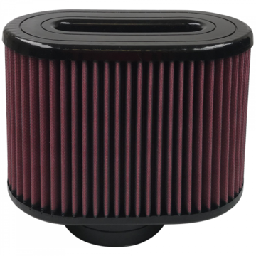 S&B Filter KF-1049 Air Filter For Intake Kits 75-5016,75-5023 Oiled Cotton Cleanable Red