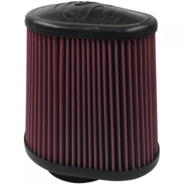 S&B Filter KF-1050 Air Filter For Intake Kits 75-5104,75-5053 Oiled Cotton Cleanable Red