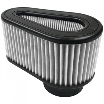 S&B Filter KF-1054D Air Filter For Intake Kits 75-5032 Dry Extendable White