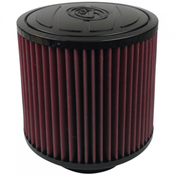 S&B Filter KF-1055 Air Filter For Intake Kits 75-5061,75-5059 Oiled Cotton Cleanable Red