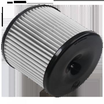S&B Filter KF-1056D Air Filter For 75-5106,75-5087,75-5040,75-5111,75-5078,75-5066,75-5064,75-5039 Dry Extendable White