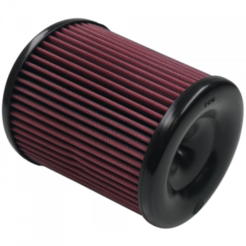 S&B Filter KF-1057 Air Filter For Intake Kits 75-5060, 75-5084 Oiled Cotton Cleanable Red