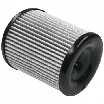 S&B Filter KF-1057D Air Filter For Intake Kits 75-5060, 75-5084 Dry Extendable White