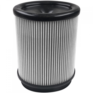 S&B Filter KF-1059D Air Filter For Intake Kits 75-5062 Dry Extendable White