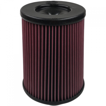 S&B Filter KF-1060 Air Filter For Intake Kits 75-5116,75-5069 Oiled Cotton Cleanable Red