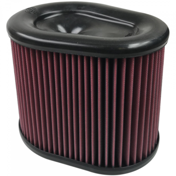 S&B Filter KF-1062 Air Filter For Intake Kits 75-5075 Oiled Cotton Cleanable Red