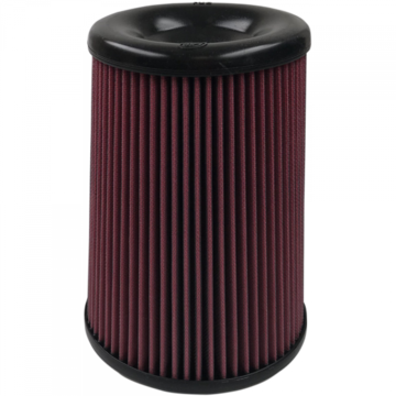 S&B Filter KF-1063 Air Filter For Intake Kits 75-5085,75-5082,75-5103 Oiled Cotton Cleanable Red