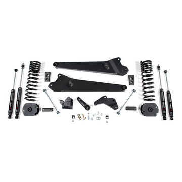 """4.5"""" x 4.5"""" Front and Rear Suspension Lift Kit For 2014-2018 2500/RAM 2500 GAS 4WD"""