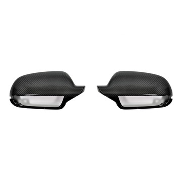 AutoTecknic AU-0011-SA Carbon Mirror Covers Fits Audi 8P A3 | B8 8K A4 | 8T A5