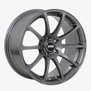 "VMR Wheels 10 Straight-Spoke Concave Style V701 (19x9.5""/5x112mm/+45mm offset) Gunmetal"