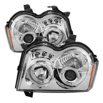 Spyder Auto 5011107 Halo LED Proiettore Fari per 05-07 Grande Cherokee