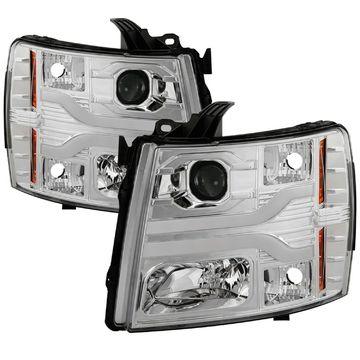 Spyder Auto 5083616 DRL LED Projektor Scheinwerfer
