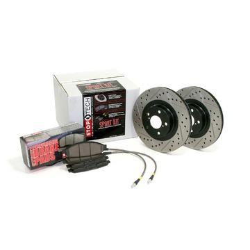 StopTech 978.34017R StopTech Sport Brake Kit Fits 00-03 M5