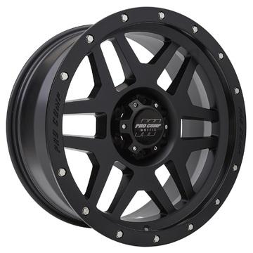 Pro Comp Wheels 5041-898355 Phaser Series 41 Satin Black Finish