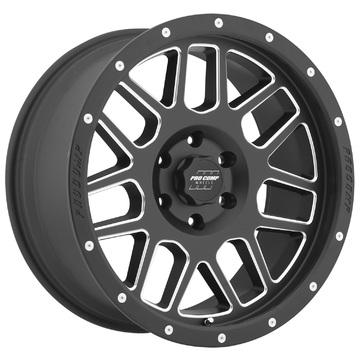 Pro Comp Wheels 5140-293652 Vertigo Series 40 Black Milled