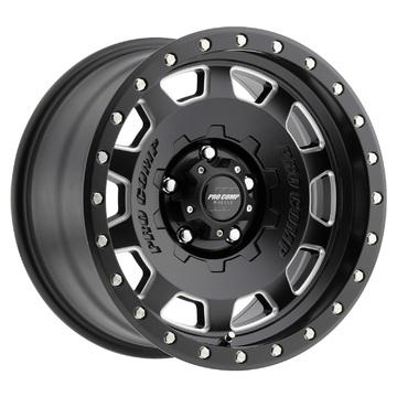Pro Comp Wheels 5160-7973 Hammer Series Satin Black Finish