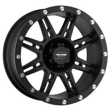 Pro Comp Wheels 7031-8936 Stryker Series 7031 Matte Black