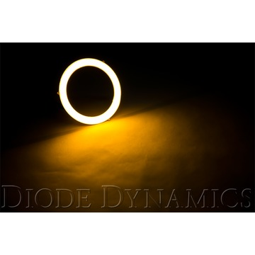 Diode Dynamics Halo Lights LED 70mm Amber Four