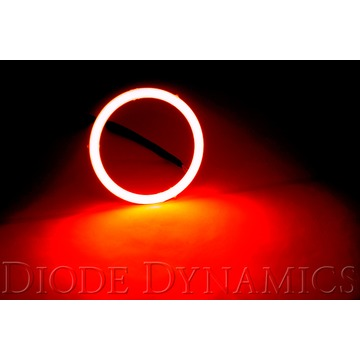 Diode Dynamics Halo Lights LED 80mm Red Single