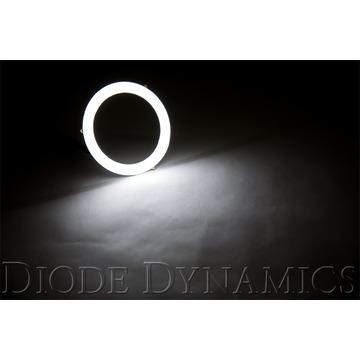 Diode Dynamics Halo Lights LED 70mm White Single